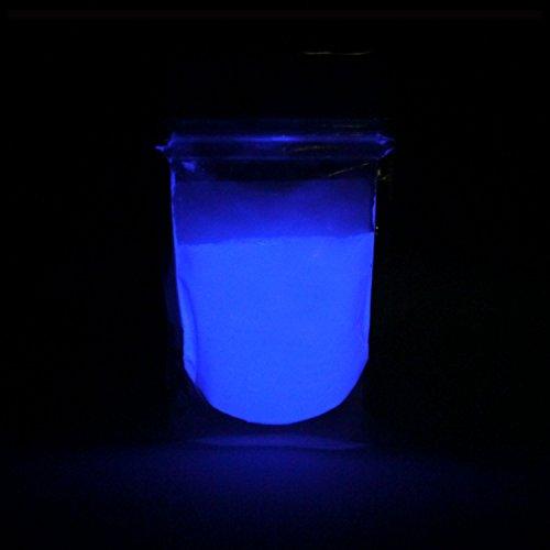 Gluminous Glow in the Dark Powder - Violet/Dark Blue - 2oz | 57g (Strontium Additives)