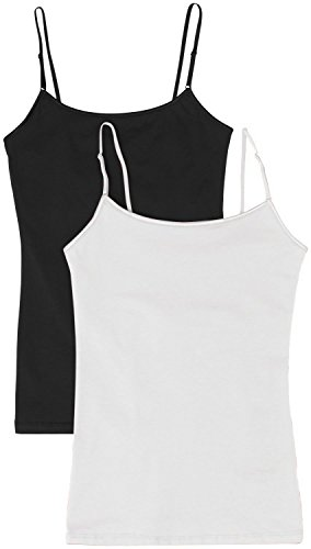 Womens Adjustable Spaghetti Tank Top