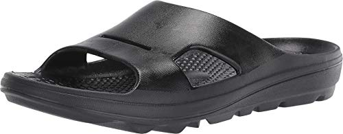 Spenco Men's Fusion 2 Fade Slide Black 10 D US