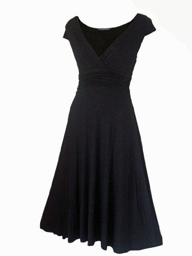 Robe Femme Sexy STYLE VINTAGE Noir/Robe de soirée/Robe d'été/Robe de cocktail Taille 36 - 48 (44)