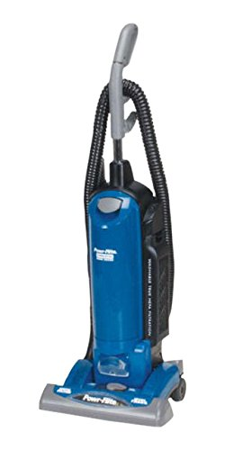 Powr-Flite PF82HF HEPA Commercial Single Motor Upright Vacuum with On-Board Tools, 15'' by Powr-Flite (Image #1)