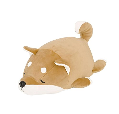 LivHeart Marshmallow Animal Cocon Bolster Cushion Sleepy Shiba Dog Kotaro - China Plush