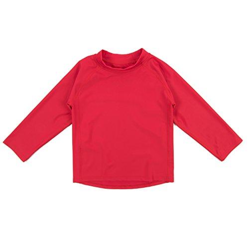 Leveret swim shirts red 2019