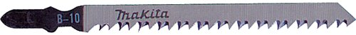 Makita 792430-6 Jig Saw Blade, T Shank, HCS, 4-1/8-Inch by 8TPI, (Makita Steel Jigsaw)