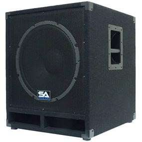 15 Inch Unpowered Passive Subwoofer Cabinet