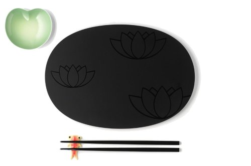 A di Alessi Lily Pond Sushi - Lily Collection Pond