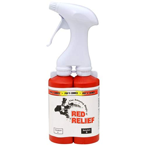 Dual Chamber Sprayer for Pro's Choice Red Relief (4 Units)