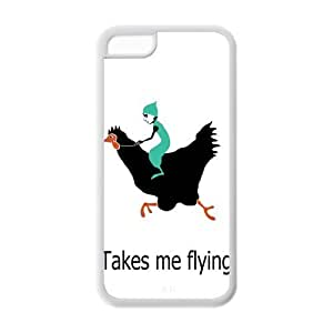 Custom Dwarf,Funny Gnome TPU Case For Apple IPhone 5C by lolosakes
