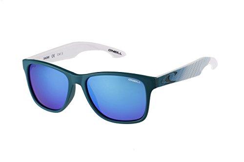 O'Neill Shore 189P Polarized Wayfarer Sunglasses, Matte Blue - Com Sunglasses Amazon