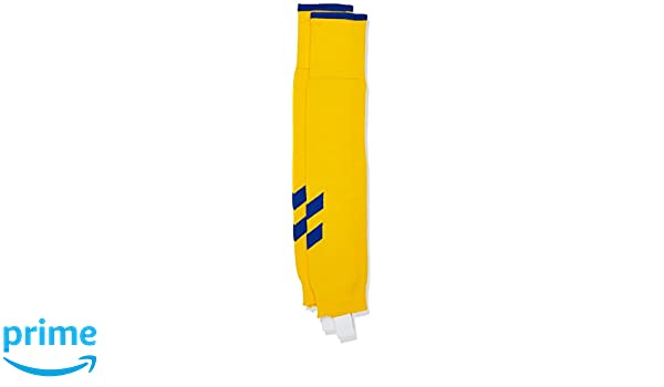 Hummel Fundamental FB Socks - Calcetines para Adulto Footless, Todo el año, Unisex, Color Amarillo - Sports Yellow/True Blue, tamaño 2: Amazon.es: Deportes ...