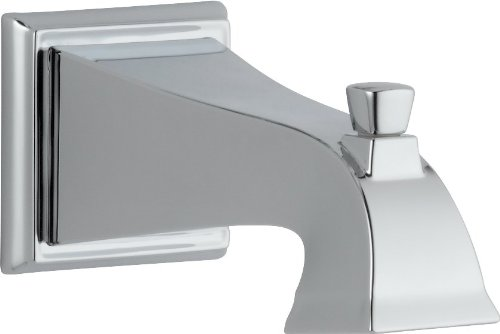 Delta RP52148 Dryden Tub Spout - Pull-Up Diverter, Chrome by DELTA FAUCET