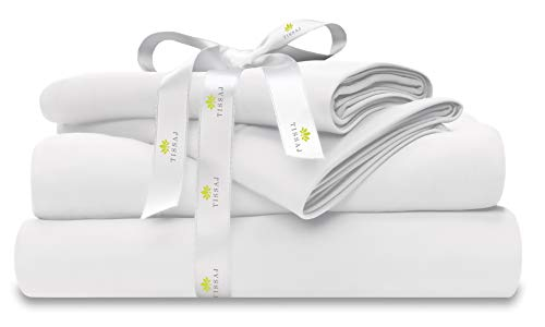 DEAL OF THE DAY! ORGANIC 500TC COTTON BED SHEET SET QUEEN SIZE FOR ONLY $63.99!