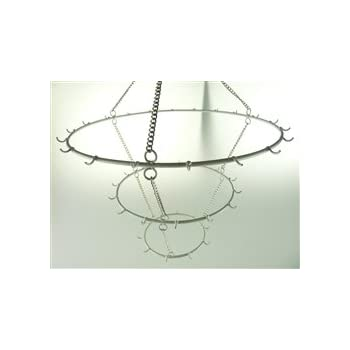 Amazon.com: Hanging Metal Chandelier Frame Wire With Hook (19 ...
