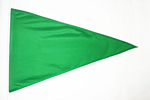 BEACH WARNING GREEN FLAG 3' x 5' External Use - BEACH WARNIN