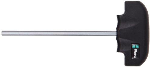 - Wera 05013338001 Hex-Plus 454 Hex T-Handle Screwdriver, 6mm Head, 150mm Blade Length