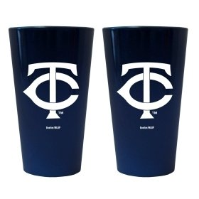 (Minnesota Twins Lusterware Pint Glass - Set Of 2)