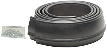 Pacer Performance 52-154 Flexy Flares Black 2-1//2 x 25 Standard Duty Rubber Fender Extension Roll