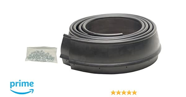 Pacer Performance 52-170 Flexy Flares Black 2-1//2 x 58 Heavy Duty No-Lip Rubber Fender Extension Kit 2 Piece