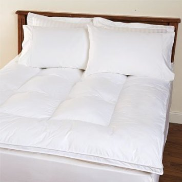 SOFT TEX MATTRESS TOPPER SENSORPEDIC MEMORY LOFT KING SIZE