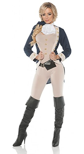 Women's Founding Father Hamilton Costume - X-Large (1800 Costumes For Men)