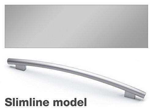 Miele GFVI 455/77-1 Optional Door Panel w/ Profi Handle Clean Touch Steel