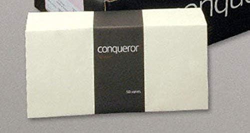 Buste Superficie Liscia Diamante Bianco Conqueror Confezione da 50