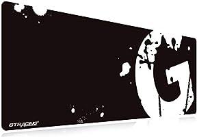 GTRACING ゲーミングマウスパッド マウスパッド 光るマウスパッド ゲーミング 大型 キーボードパッド 光学式マウス対応 防水 ズレない RGB 【一年保証】 (GT888)