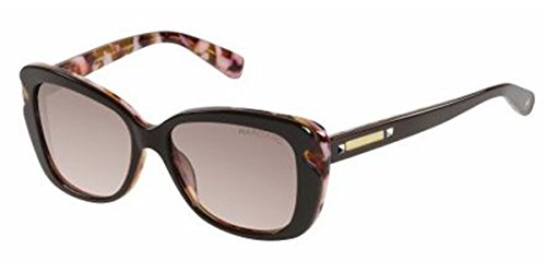 Guess By Marciano Women's GM711 GM/711 BRN-52 Brown Fashion Sunglasses ()