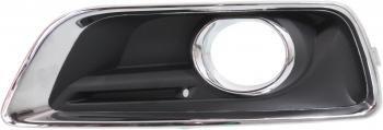 Chevy MALIBU 13-13 FOG LAMP COVER, Driver Side, Bezel, /Black, w/ Fog ()