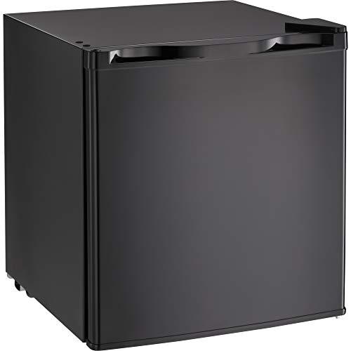 Kismile Compact Refrigerator, Portable Single Door Refrigerator, Home and Office, 1.62 cu ft, Black