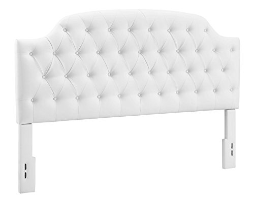 Dorel Living Button Leather Headboard Advantages
