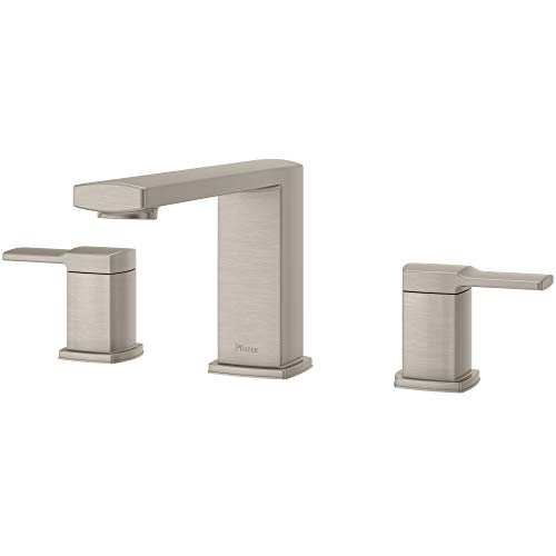 Pfister RT6-5DAK Deckard 3-Hole Roman Tub Faucet, Brushed Nickel