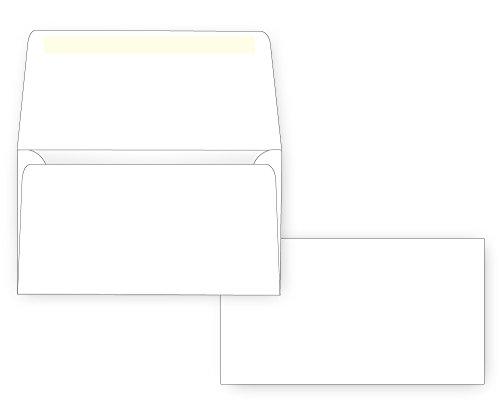 #6 3/4 Remittance Envelope - Wallet Flap - 24# White (3 5/8 x 6 1/2) (Box of -