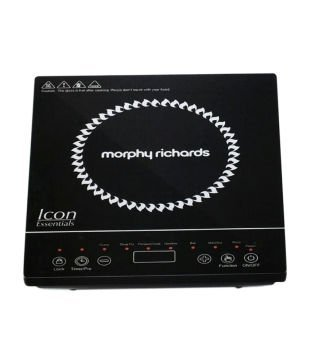 Morphy Richards Icon Essential 1600-Watt Induction Cooktop (Black)