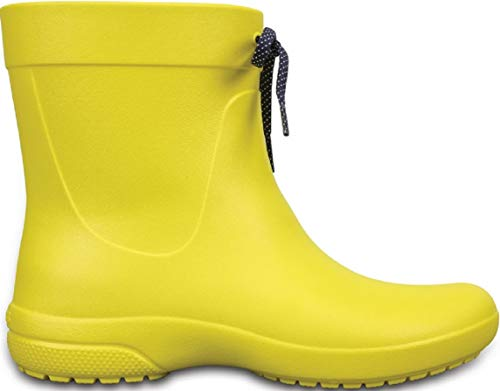 Boots Botas Freesail Crocs Rain para Lemon Mujer Shorty wqytHOf