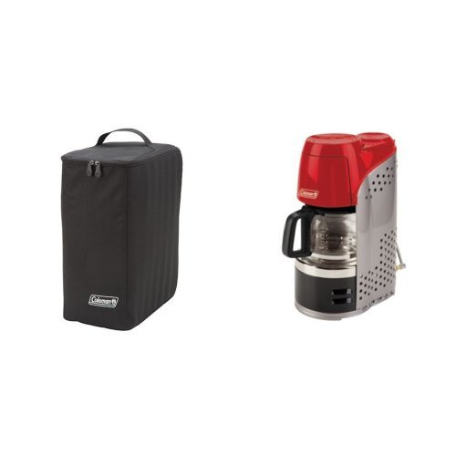 Coleman QuikPot? Coffeemaker Carry Case and Coleman QuikPot? Propane Coffeemaker Bundle