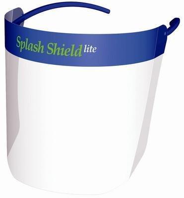 Splash Shield Lite Disposable - SSSK002540B - Splash Shield - LITE Splash Shield, Unimed-Midwest - Box of 8