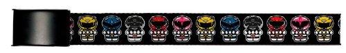 Power Ranger Clamp Belt Black Buckle- 1.25