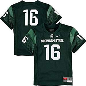NCAA Michigan State Spartans Kids' Football Jersey (Small 4)