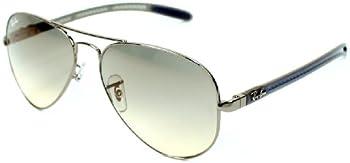 Ray-Ban RB8307 Aviator Light Grey Gradient Sunglasses