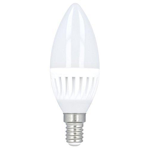 10 x E14 10w Bombilla de Luz LED Bombilla Molde De Vela Blanco Neutro 4000k 900Lumen sustituido 66w Bombilla Lámpara ahorro de energía Clase De Energía A+: ...