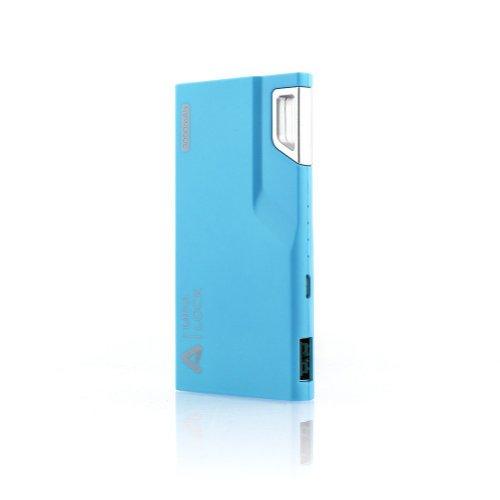 Aukey® – Batería Externa 3000mAh, Power Bank portatil, Cargador 5V/1A para iPhone iPad, iPod, Smartphone, teléfono celular, MP3, MP4, PSP, GPS Gopro, Samsung Android