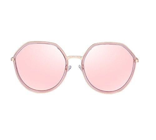 BSNOWF 3 Vista Mujer Redonda UV Ojo Gafas de Larga Luz Cara De Anti Color sol Gafas 4 Polarizadas Vintage TwE1Bxq