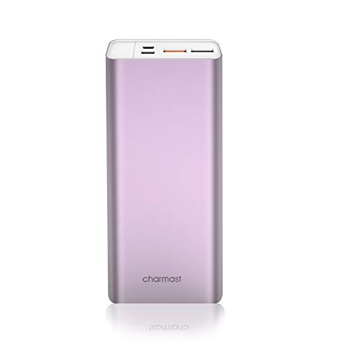 20800mAh Portable Charger, Slim 18W USB C Power Bank with Power Delivery & Quick Charge 3.0 Battery Pack Compatible with iPhone Xs XR X 8, MacBook/New Type-C iPad Pro/MacBook Air