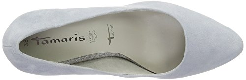 Tamaris 22428, Zapatos de Tacón para Mujer Gris (Steel 211)