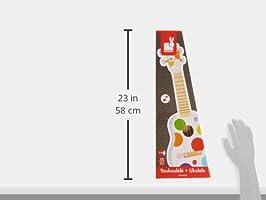 Janod - Ukulele de juguete Confetti, madera (J07597): Amazon.es ...