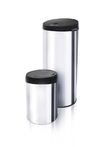Modernhome 2-Piece Motion Activated Trash Can Set
