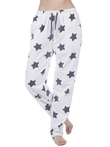 TALLA 8 / 10. Selena Secrets - Pantalón de pijama Mujer