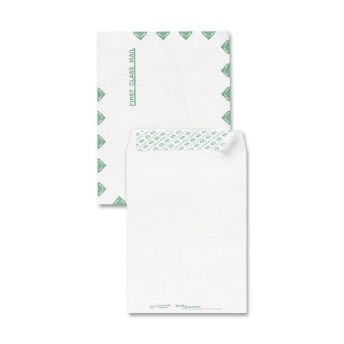 Sparco Tyvek Open-End First Class Envelopes (Sparco Heavy Duty Tyvek Envelope)