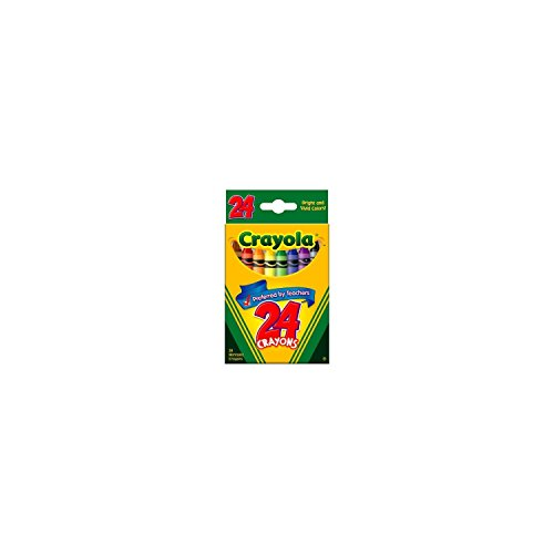 Crayola 24 Ct Crayons - 3 (Fun Halloween Crafts For Toddlers)